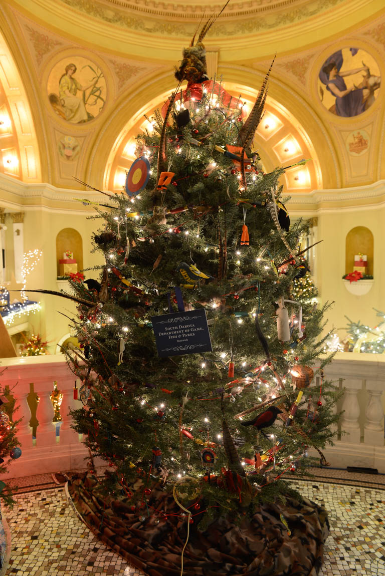 South Dakota Department of Game  Fish   Parks  StatewideChristmas at the Capitol  Trees. The Lighting Connection South Dakota. Home Design Ideas