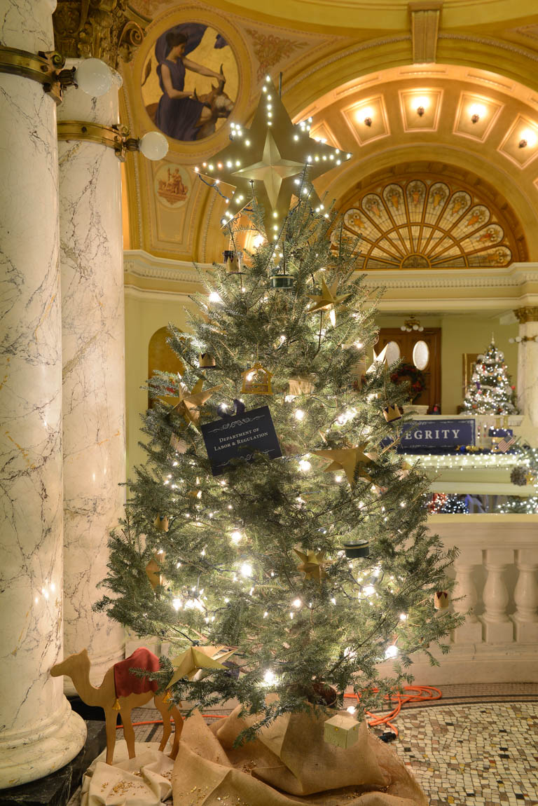 Department of Labor   Regulation  Pierre Christmas at the Capitol  Trees. The Lighting Connection South Dakota. Home Design Ideas